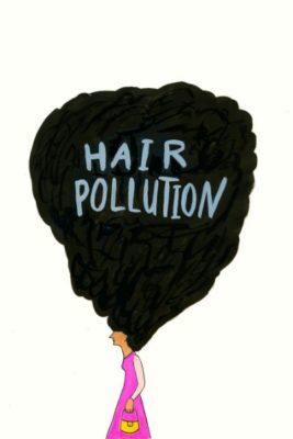 B toons hair pollution
