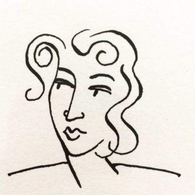 Claudine Line Portrait